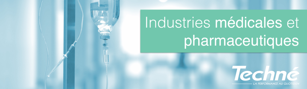 Industrie-Medicale-Pharmaceutique-Etancheite-Techne-Bandeau