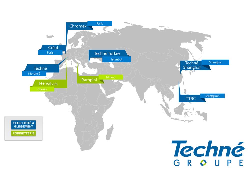 Implantations-Groupe-Techne-Monde-International
