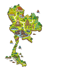carte thailande2